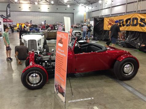 Rod Garage Show by Qld Rod Show Ol School Garage