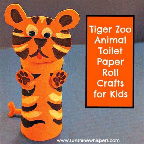 toilet paper roll crafts animals make it mondays diy tiger zoo animal toilet paper roll
