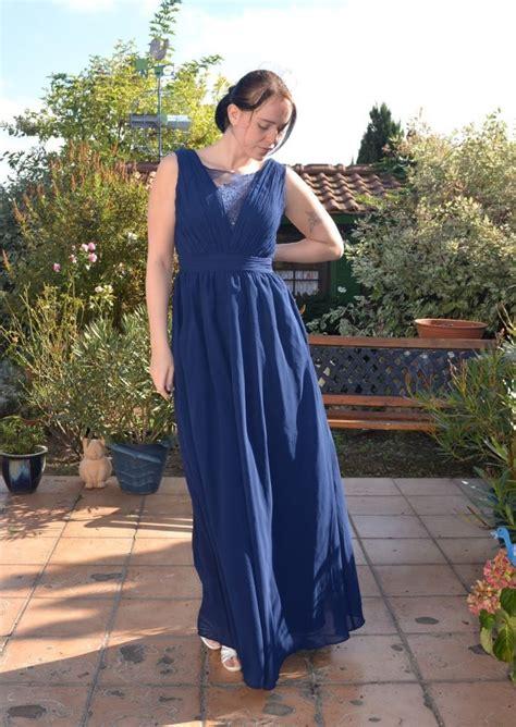 grossartig blaues kleid hochzeitsgast stylish abendkleid