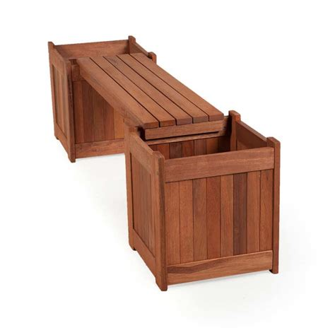 bench boxes customer reviews for greenfingers planter box garden bench