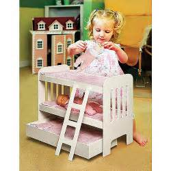 Badger Basket Doll Bunk Bed Badger Basket Doll Bunk Bed With Ladder And Trundle Fits Most 18 Quot Dolls My As Walmart