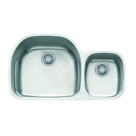 Franke Kitchen Sinks Reviews Shop Franke Prestige 20 5 In X 35 625 In Basin Stainless Steel Undermount Residential