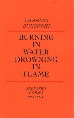 drowning in books burning in water drowning in by charles bukowski