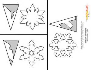 Snowflake Templates Easy by Easy Snowflake Template Www Pixshark Images