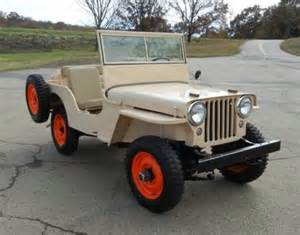 Willys Jeep For Sale Nicely Restored 1946 Willys Cj2a Bring A Trailer