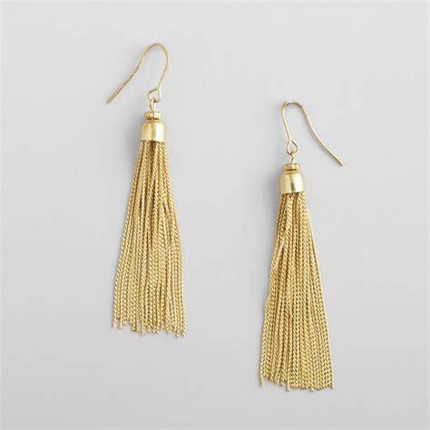 Tassel Drop Earrings furniture home decor rugs unique gifts world market