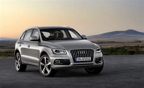 audi q5 year to year changes 2013 audi q5 facelift officially revealed 187 autoguide news