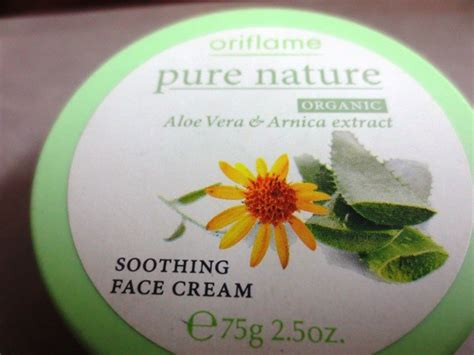 Aneka Nature Facecream Oriflame oriflame nature soothing review
