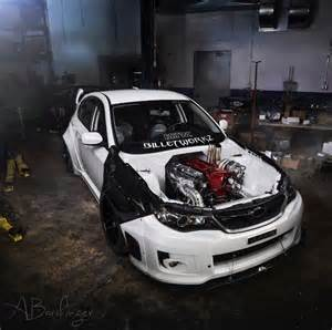 Subaru Skyline Subaru Wrx With Nissan Skyline Gt R Engine Is The