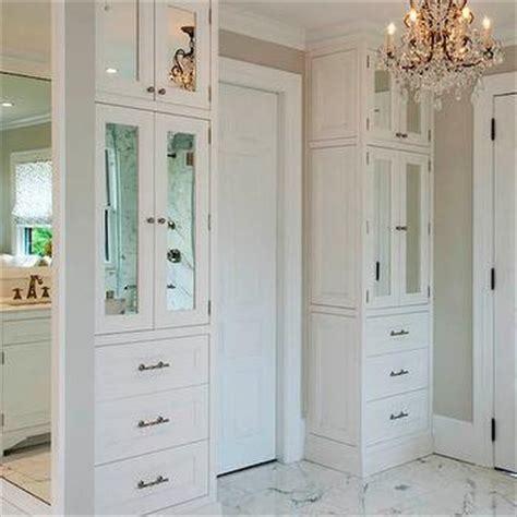bathroom floor to ceiling cabinet built in bathroom cabinets design ideas