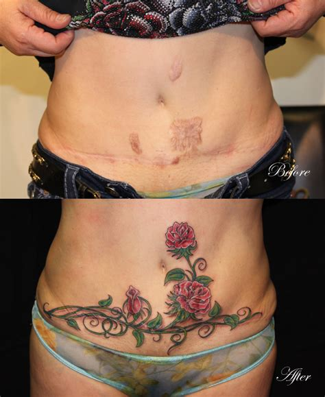 tattoos to cover c section scars 12 breathtaking c section scar tattoos