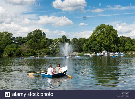 lake youngs boat launch the west boating lake in victoria park hackney london