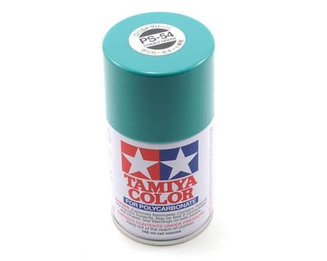 Tamiya Ps 54 Cobalt Green Spray Paint 100ml 1 ps 54 cobalt green spray paint 3oz by tamiya tam86054