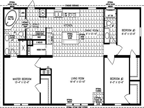 3 bedroom modular home floor plans house plans mobile home floor plans 1200 sq ft 3 bedroom mobile home