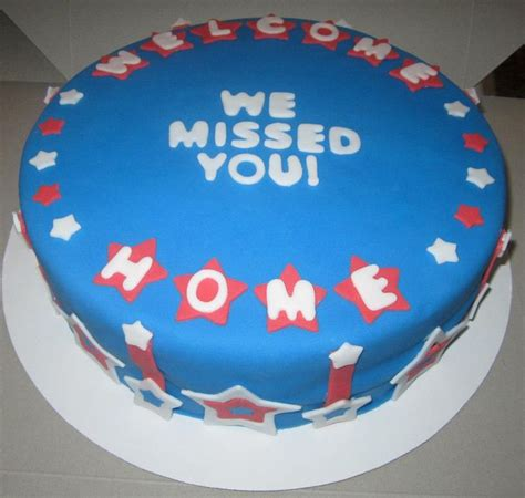 welcome home from deployment cake deployments