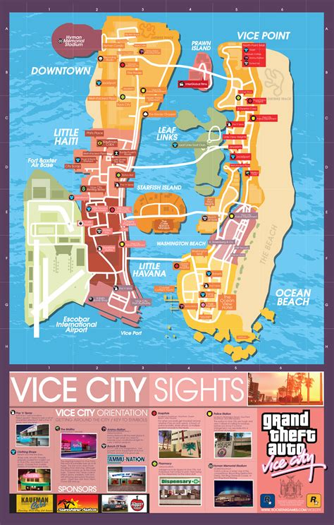 grand map with cities maps for grand theft auto 3 vice city san andreas