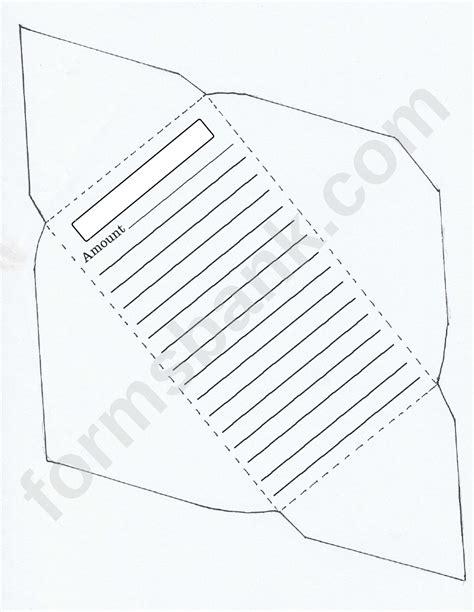 money envelope template printable