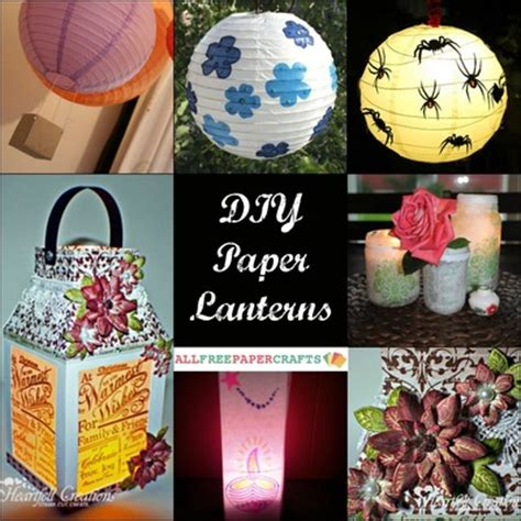 Make Your Own Paper Lanterns - how to make a paper lantern 11 diy paper lanterns