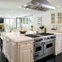 range in island kitchen interior design inspiration photos by architectural digest