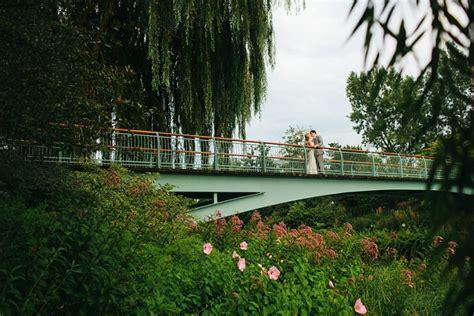 Laura Greg Chicago Botanic Gardens Wedding Botanical Gardens Chicago Wedding