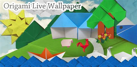Origami Forums - free android origami live wallpaper android apps