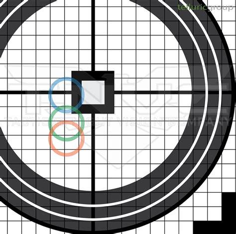 printable laser targets telluric group ir laser zero targets tactical night