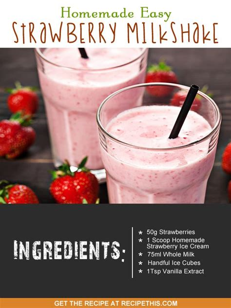 100 strawberry milkshake recipes on pinterest strawberry juice strawberry cocktails and