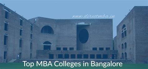 Mba In Bangalore by Direct Admission Top Mba Colleges In Bangalore