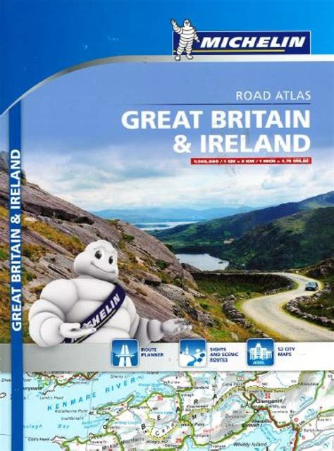 0008183724 collins road atlas ireland touring great britain ireland touring and road atlas 122 by