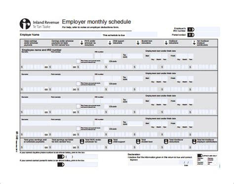Monthly Work Schedule Template 25 Free Word Excel Pdf Format Download Free Premium Monthly Work Schedule Template