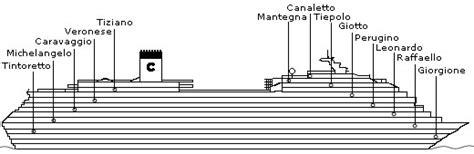 costa magica cabine interne ponte 7 perugino della nave costa magica costa crociere