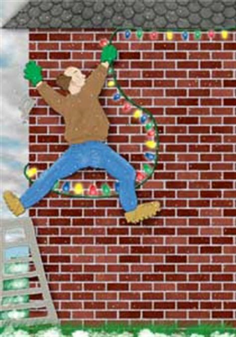 hanging christmas lights on brick wall hanging lights
