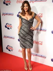 Capita Dress snowdon shows cleavage in sultry the