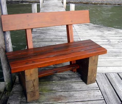 outdoor timber benches timber frame tools 187 windproof dock bench outdoor bench