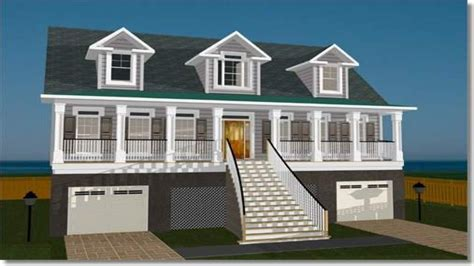 beach home plan with elevators particular house plans elevated beach house plans with elevator best house