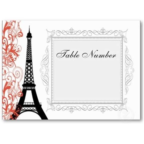 vintage place cards template vintage eiffel tower place cards business places and