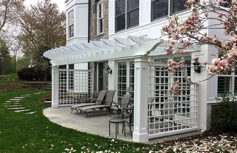 How To Decorate Your Livingroom shaded attached pergola design plans for your home