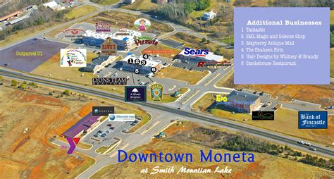 Home Design Outlet Center Locations by Aerial Map 187 Downtown Moneta