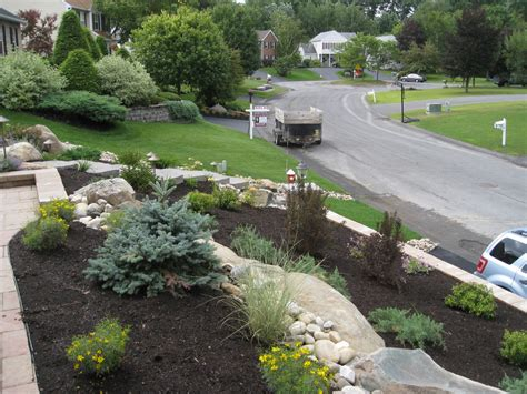 How To Landscape A Sloping Front Yard Beatiful Landscape Landscaping Albany Ny