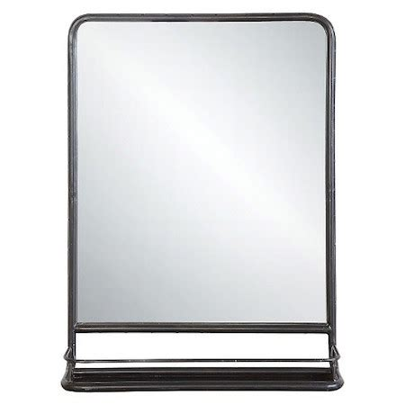 wall mirror with tray look 4 less and steals and deals