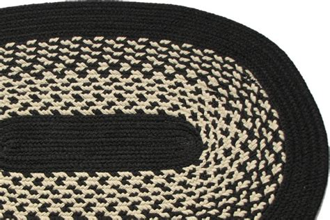 Black Braided Rugs by River Black Braided Rug