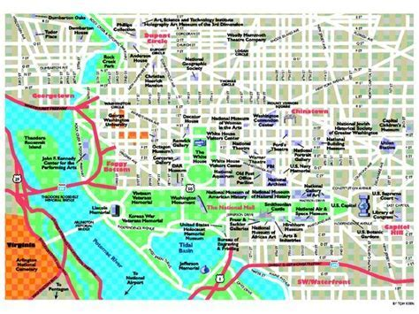 1000  ideas about Washington Dc Tourist Map on Pinterest