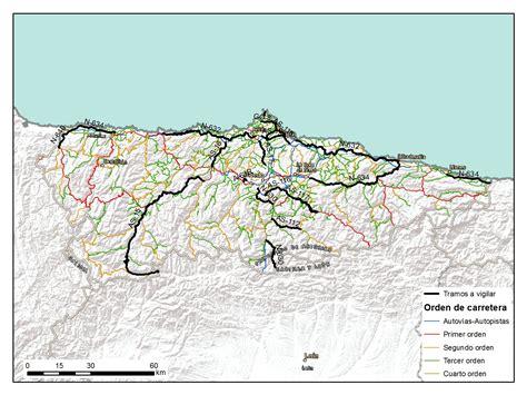 asturias mapa de carreteras 8499355900 radares en asturias verano 2016 conocer asturias