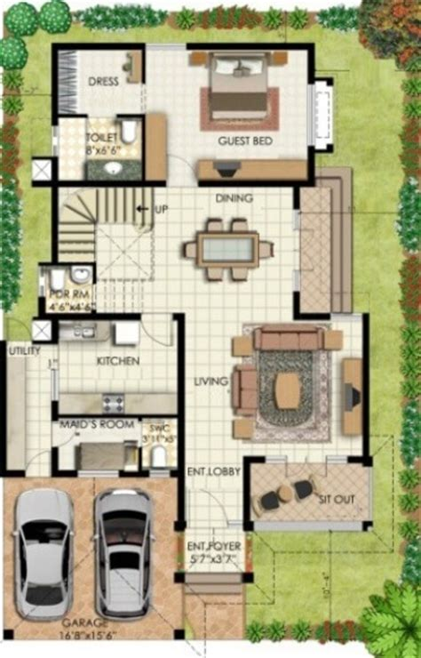 designing a house plan bungalow house plans bungalow map design floor plan india