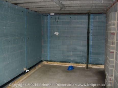 Double Garage Water Ingress Britannia Presevation