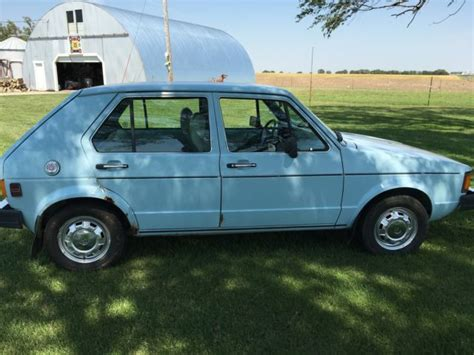 1981 Vw Rabbit Diesel 4 Door Sedan For Sale Volkswagen