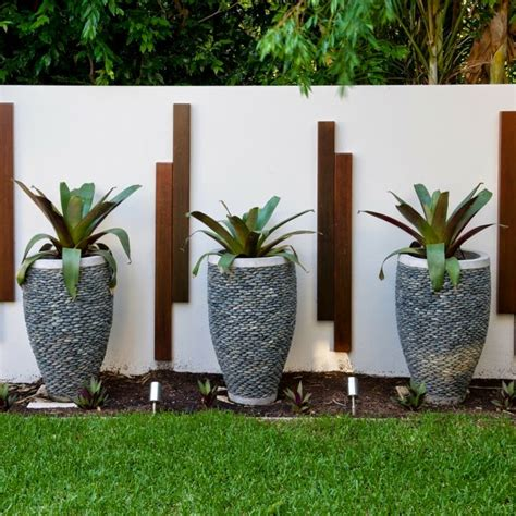 modern garden design exles planters as accent houzz home
