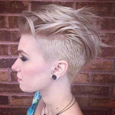 edgy haircuts for thick hair 2018 popular edgy short haircuts for thick hair