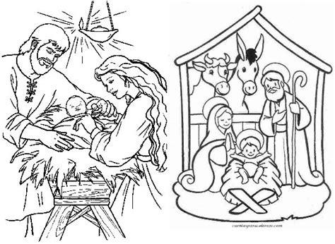 dibujos de navidad para colorear del nacimiento de jesus dibujos el nacimiento del ni 241 o dios im 225 genes para pintar