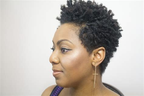 coil hairstyles natural hair how to finger coil and rock a coil out with a tapered cut